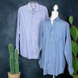 CLEARANCE Peter Millar Men's Bundle of 2 Shirts